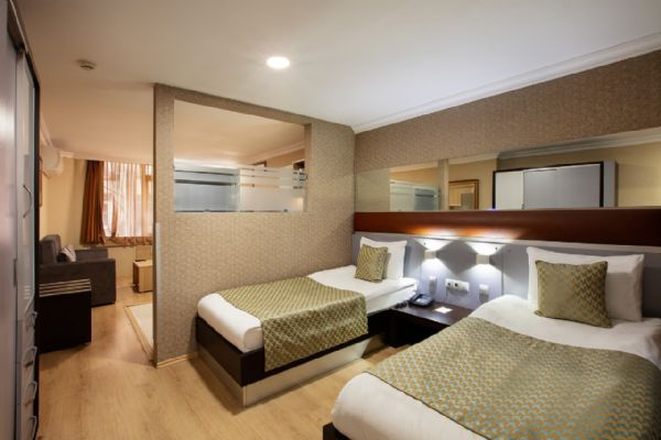 İkiz Yataklı Suit - Twin Bedded Suite